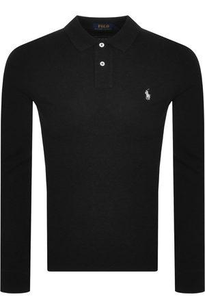 Ralph Lauren Men Long Sleeve - Long Sleeve Polo T Shirt Heathe