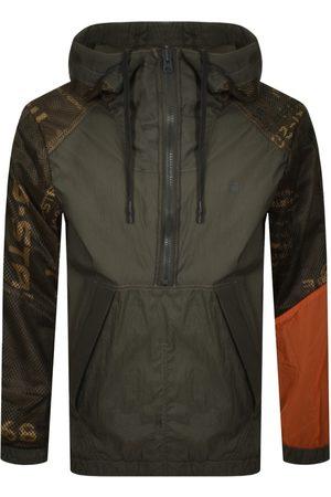 G-Star Men Anoraks - Raw Reversable Anorak Jacket Khaki