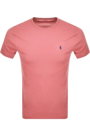 Ralph Lauren Crew Neck Slim Fit T Shirt