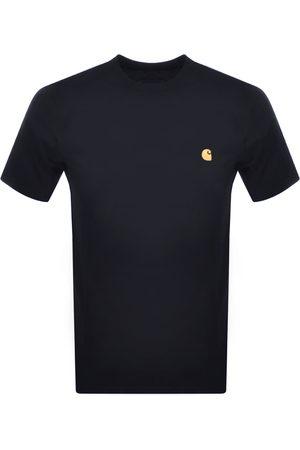 Carhartt Men T-shirts - Chase T Shirt Navy