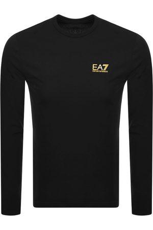 EA7 Emporio Armani Long Sleeved Logo T Shirt