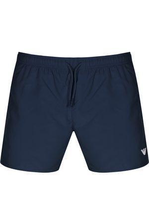 Armani Emporio Logo Swim Shorts Navy