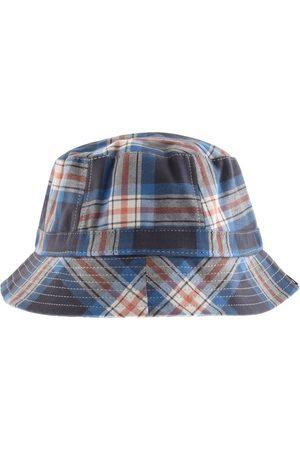 Pretty Green Check Bucket Hat Navy
