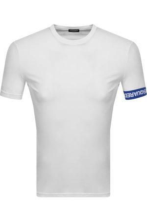 Dsquared2 Men Short Sleeve - Logo Sleeve Short Sleeved T Shirt