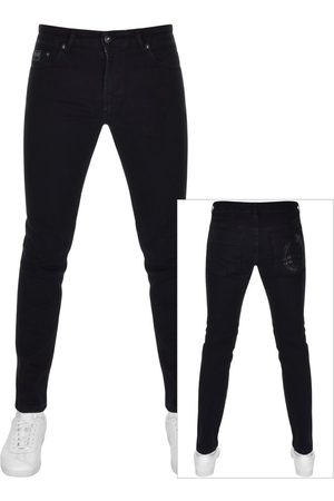 VERSACE Men Jeans - Couture Narrow Fit Jeans Navy