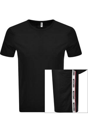 Moschino Men Short Sleeve - Logo Taped T Shirt