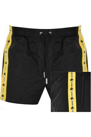 Dsquared2 D2 Leaf Tape Swim Shorts