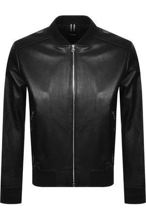 HUGO BOSS BOSS Nalban Leather Jacket