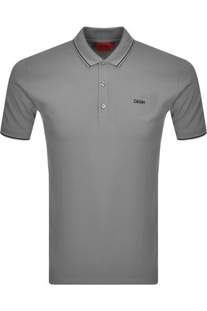 HUGO BOSS Dinoso 212 Polo T Shirt Grey