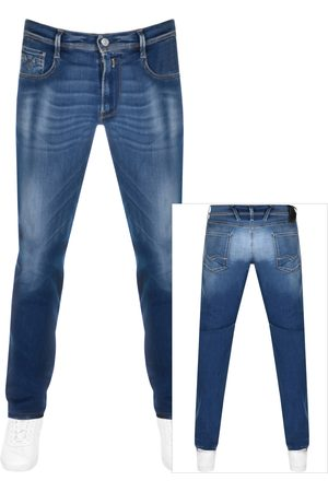 Replay Anbass Slim Fit Hyperflex Jeans