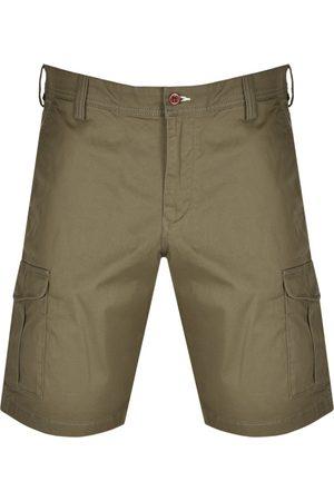 GANT Relaxed Twill Utility Shorts Khaki