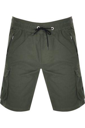 Calvin Klein Logo Cargo Shorts