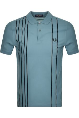Fred Perry Refined Stripe Polo T Shirt