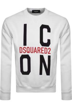Dsquared2 Vertical Icon Logo Sweatshirt