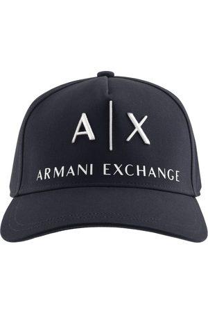 Armani Logo Baseball Cap Navy