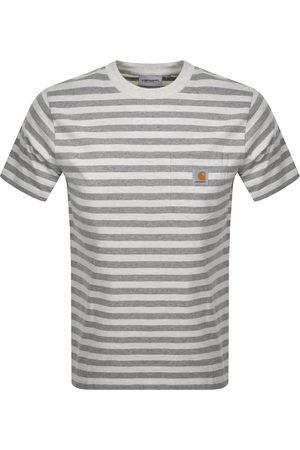 Carhartt Scotty Short Sleeved T Shirt Grey