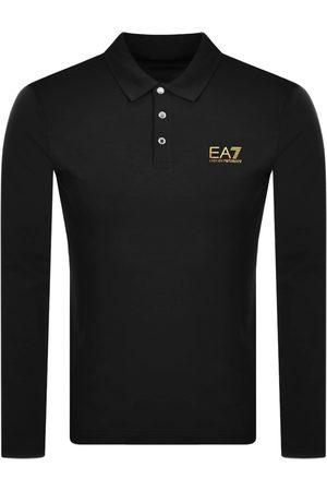 EA7 Emporio Armani Long Sleeved Polo T Shirt
