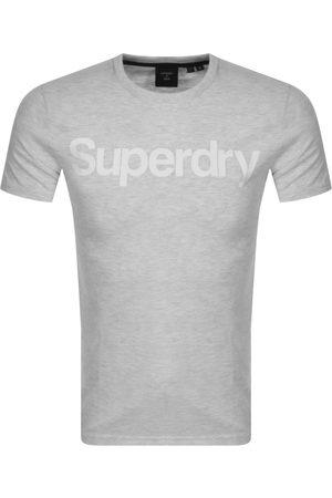 Superdry Short Sleeved T Shirt Grey
