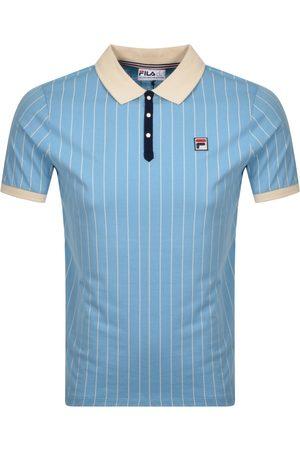 Fila Pinstripe Polo T Shirt