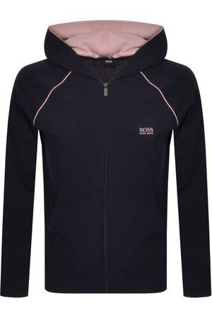 HUGO BOSS BOSS Bodywear Full Zip Hoodie Navy