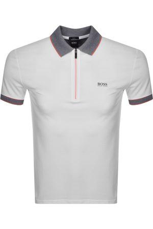 HUGO BOSS BOSS Philix Half Zip Slim Fit Polo T Shirt