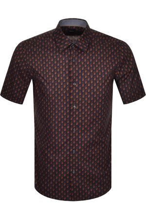 HUGO BOSS BOSS Luka Print Short Sleeve Shirt