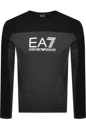 EA7 Emporio Armani Long Sleeve T Shirt Grey
