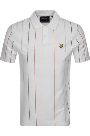 Lyle & Scott Vertical Stripe Polo T Shirt
