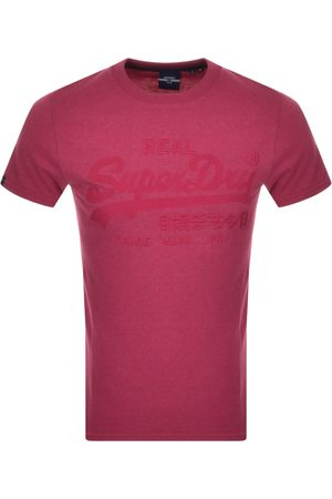 Superdry Tonal Embroidery T Shirt