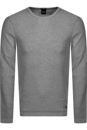 HUGO BOSS BOSS Long Sleeved Tempest T Shirt Grey