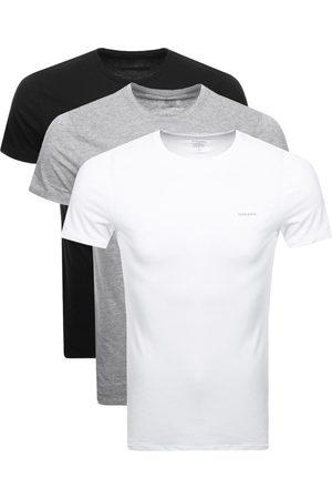 Diesel UMTEE Jake Triple Pack T Shirts Grey