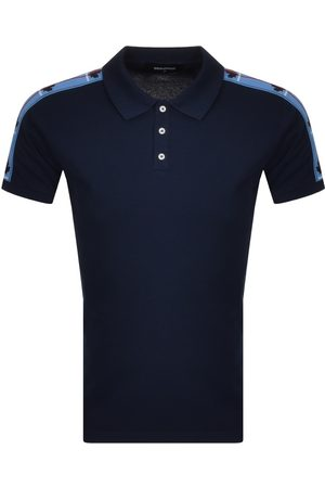 Dsquared2 Taped Polo T Shirt Navy