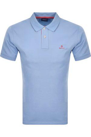 GANT Contrast Collar Rugger Polo T Shirt
