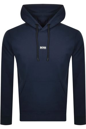 HUGO BOSS BOSS Weedo 2 Pullover Hoodie Navy