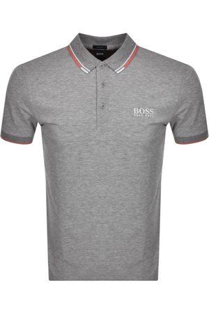 HUGO BOSS BOSS Paddy Pro Polo T Shirt Grey