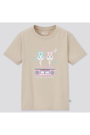 UNIQLO Kid's Animal Crossing Ut (Short-Sleeve Graphic T-Shirt), , 3-4Y(110)