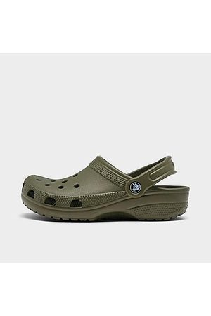 Crocs Unisex Classic Clog Shoes (Men's Sizing) in /Army Size 5.0