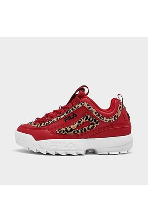 Fila Women's Disruptor 2 Leopard Casual Shoes in / Size 6.0 Leather