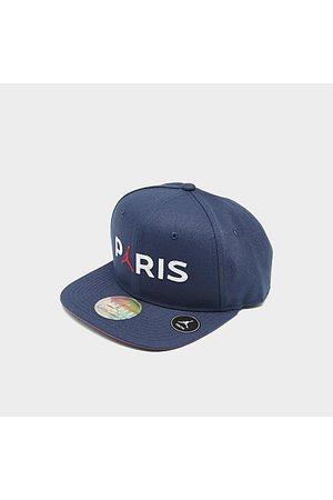 Nike Jordan Kids' Paris Saint-Germain Jumpman Snapback Hat in /Navy