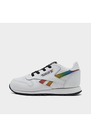 Reebok Kids' Toddler Classic Leather Pride Casual Shoes Size 4.0