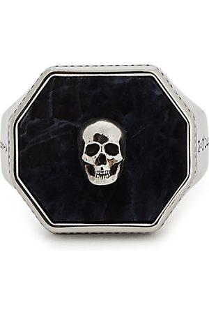 Alexander McQueen Men Rings - Skull -tone signet ring