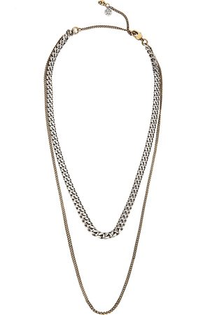 Alexander McQueen Men Necklaces - Layered chain necklace
