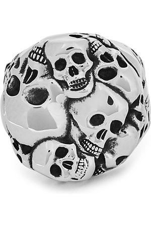 Alexander McQueen Crushed Skull -tone ring
