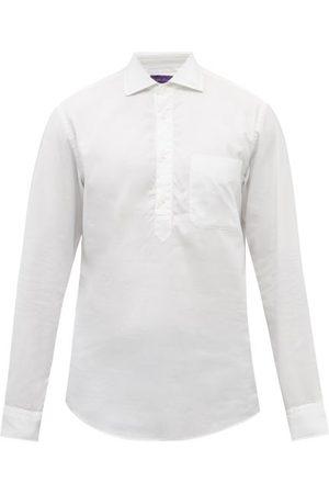 Ralph Lauren Half-placket Cotton-oxford Shirt - Mens