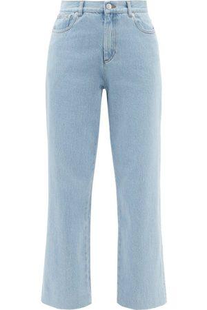 A.P.C. New Sailor High-rise Cropped Straight-leg Jeans - Womens - Light Denim