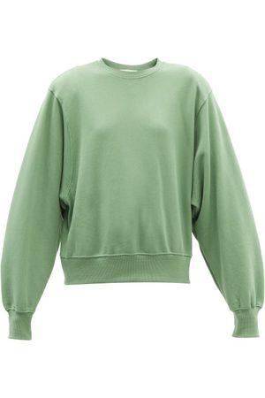 The Frankie Shop Women Sweats - Vanessa Padded-shoulder Cotton Sweatshirt - Womens