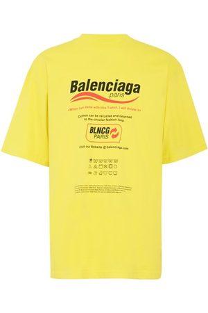 Balenciaga Men Short Sleeve - Oversized T-shirt