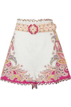 ZIMMERMANN Teddy scallop shorts
