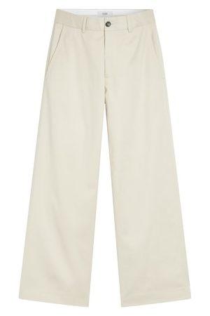 Closed Women Wide Leg Pants - Kally Oversized Shirt Jacket