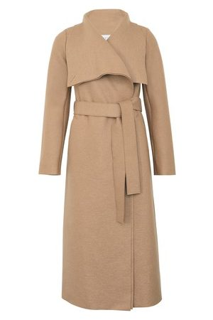 Harris Wharf London Women Coats - Pressed wool Volcano coat